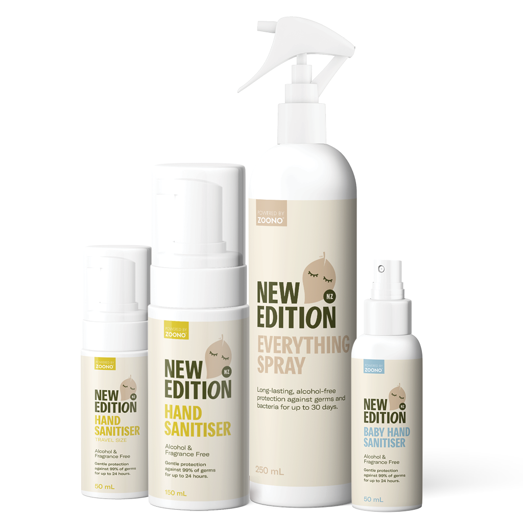 Family, Travel and Surface Sanitising Pack by New Edition NZ