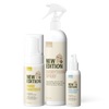 New Edition Hand And Surface Sanitising Pack including the adult foaming hand sanitiser, everything spray for surfaces and baby hand sanitiser spray