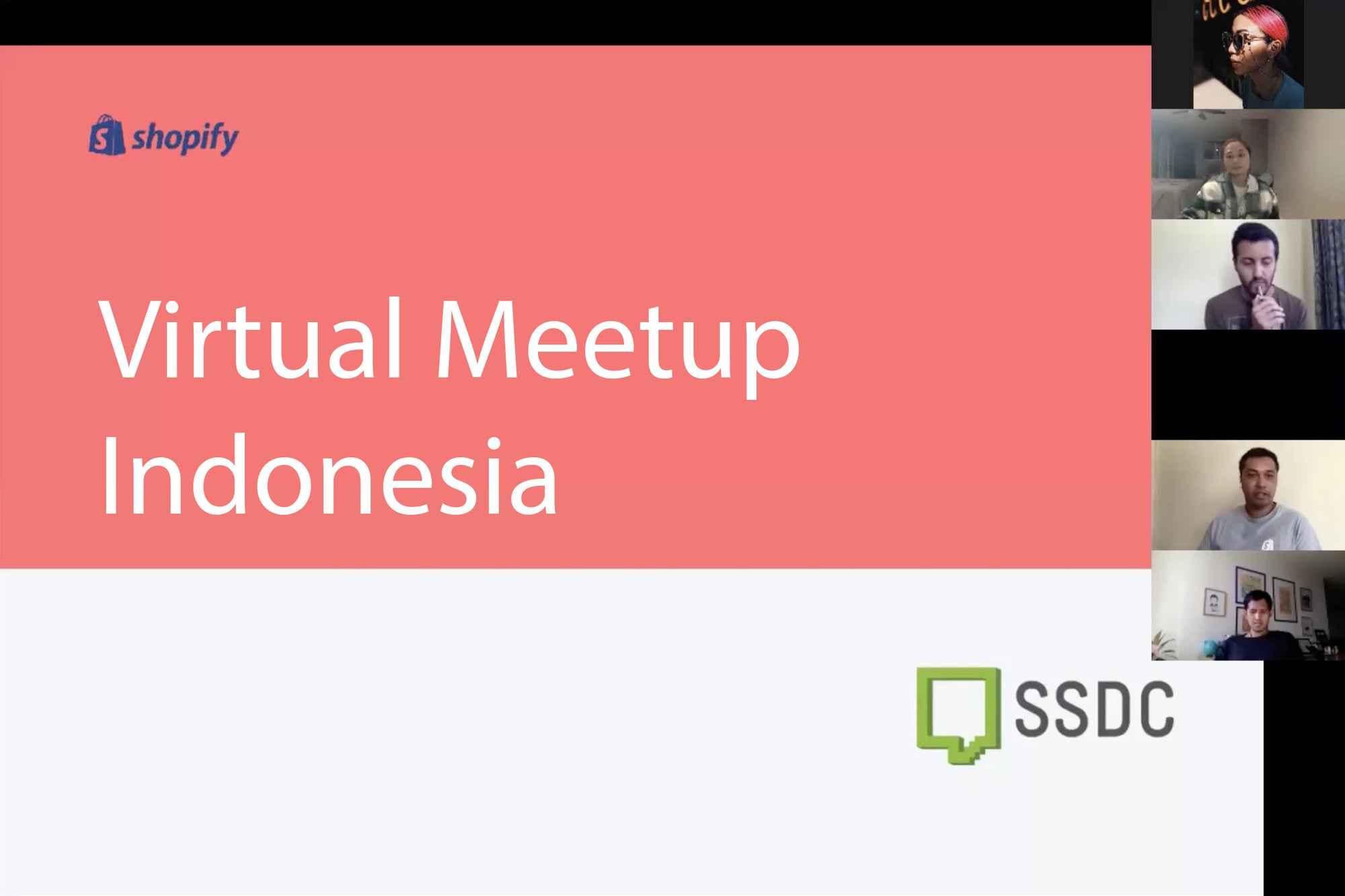 Shopify Virtual Meetup In Indonesia 2020