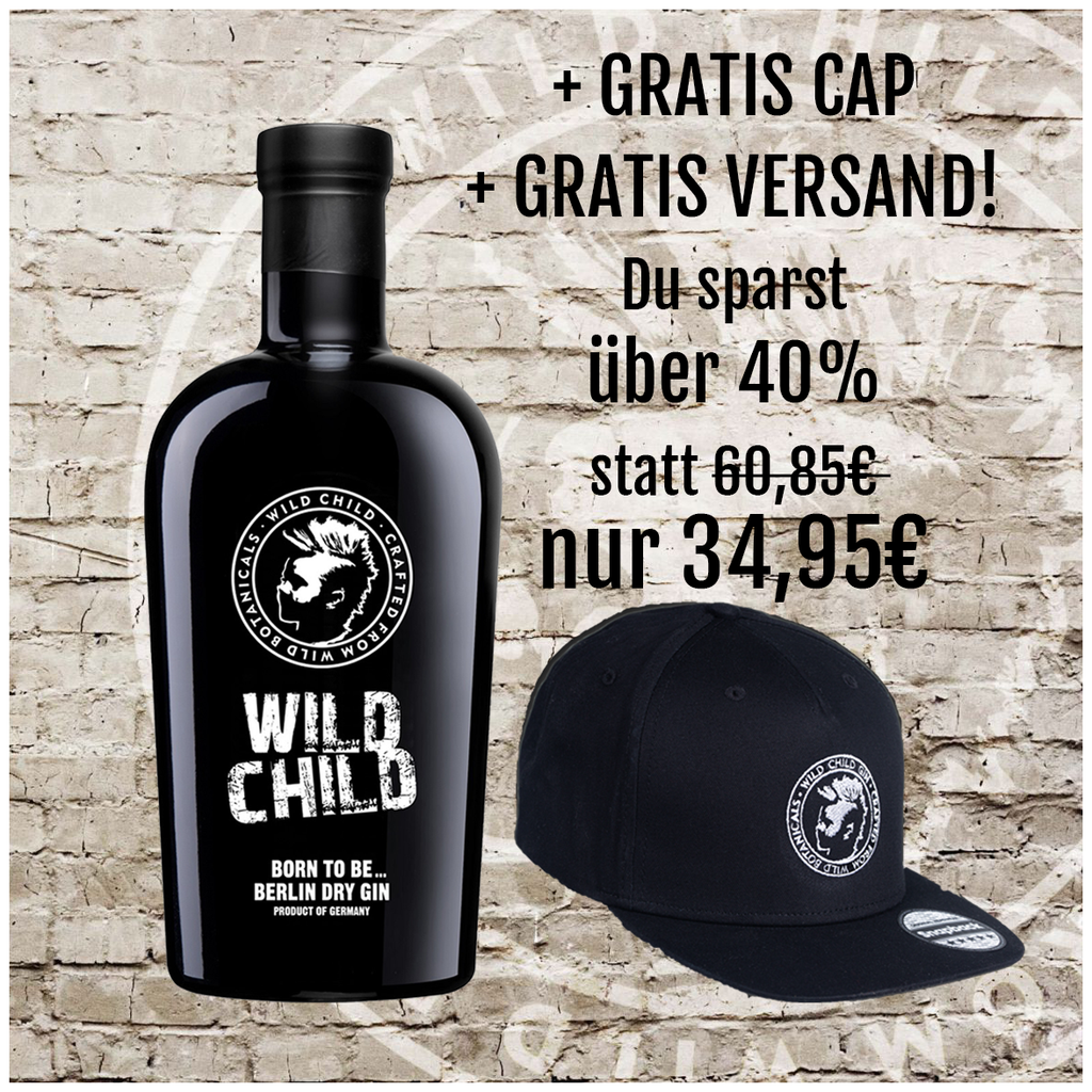 WILD CHILD DRY GIN - DADDY LOVE PAKET