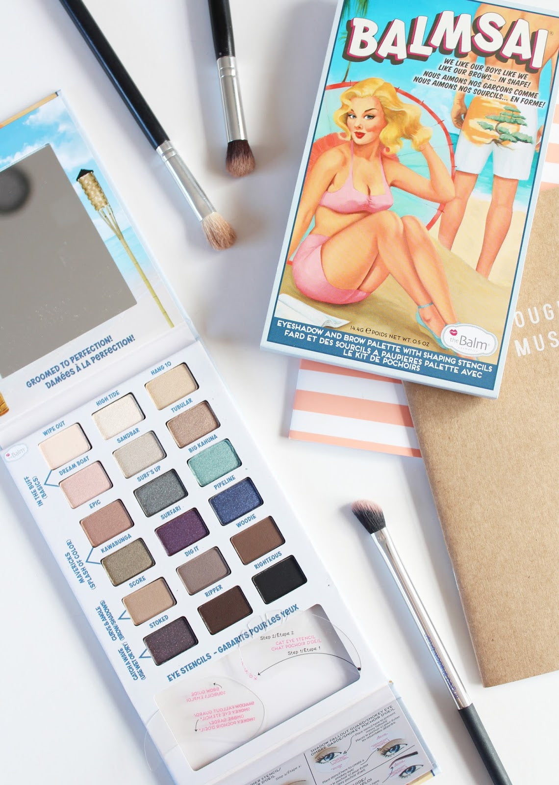 The Balm Balmsai Eyeshadow Palette