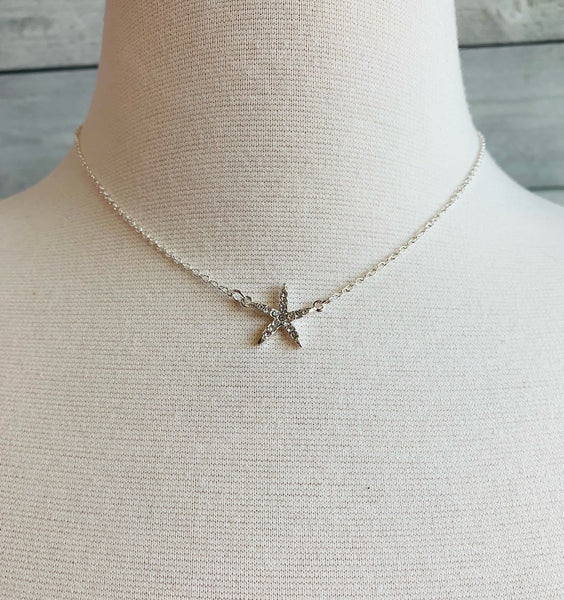 WEI // SATIN THIN STARFISH NECK 0322158