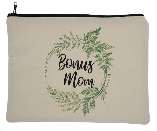 Greenery Bag - Momma, Bonus Mom, Step Mom, & Mom Available