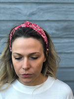 Red Knot Bandana Hard Headband