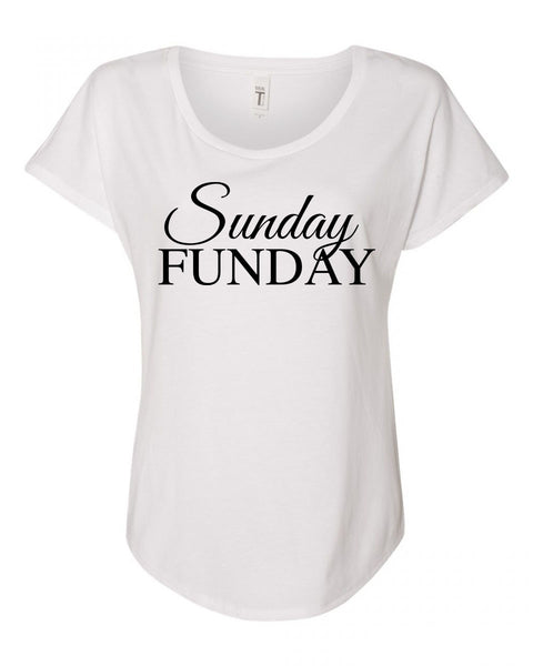 Sunday Funday Short Sleeve Cotton Tee - Shop Making Waves