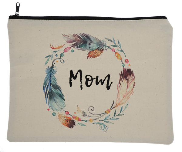 Feathers Bag - Momma, Bonus Mom, Step Mom, & Mom Available