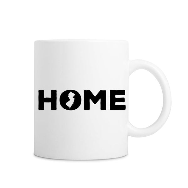 New Jersey Home State White Mug