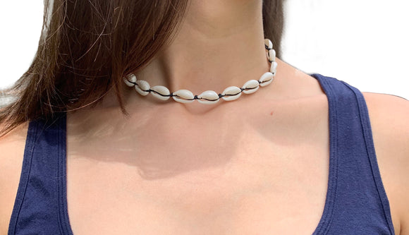 Mini Cowrie Shell Necklace - Shop Making Waves
