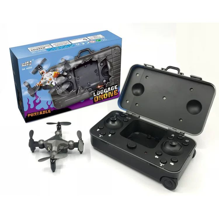 Luggage Mini Quadcopter Remote Control Drone Wifi with Camera