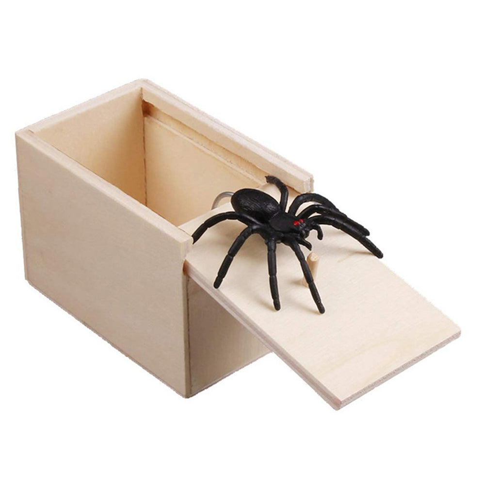 Spider Scare Toy Box