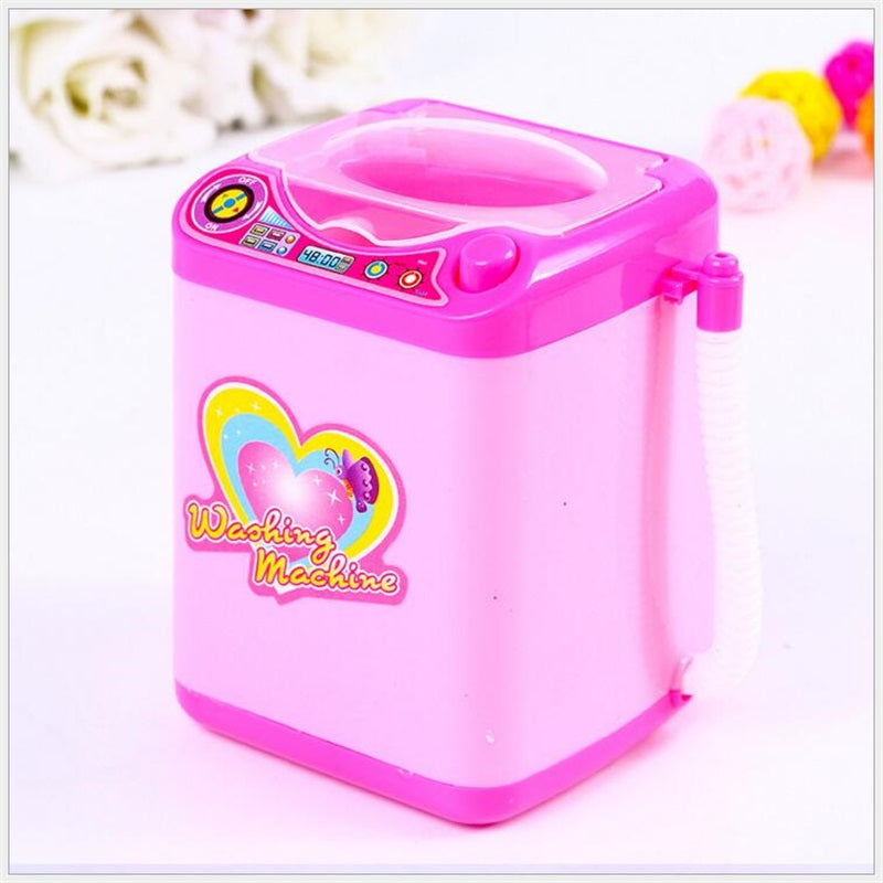 Mini makeup brush cleaning electric washing machine toys