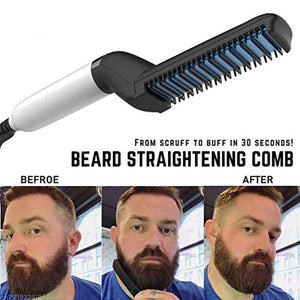 Multifunctional Beard Straightener Hair Comb