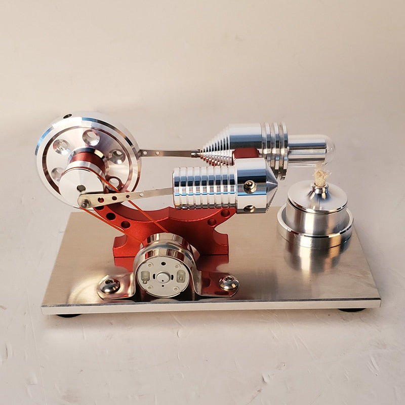 Stirling engine generator engine micro engine model