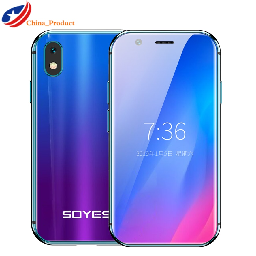 Mini Smartphone SOYES XS 3'' 3GB+32GB Android Face Recognion Cellphones