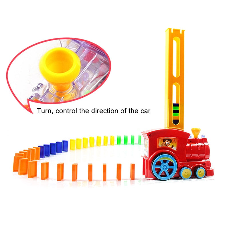 Domino Train Toy Set