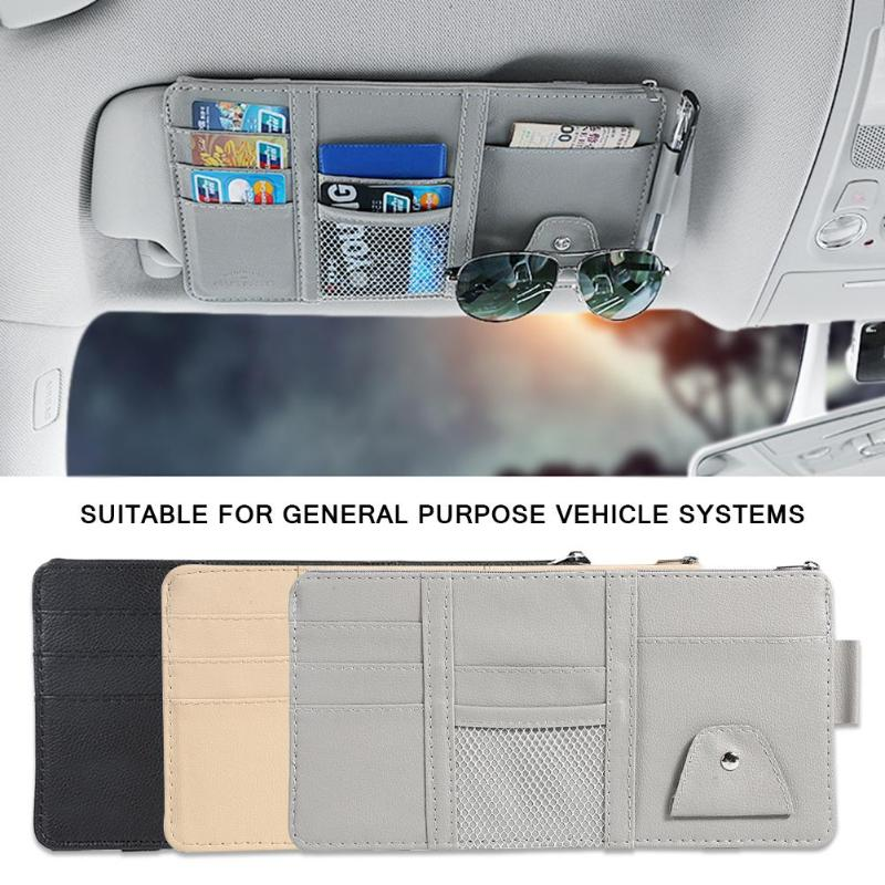 Universal Car Auto Visor Organizer Holder Storage Bag