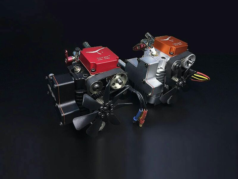 FS-S100G Engine Four-stroke Gasoline Model Engine