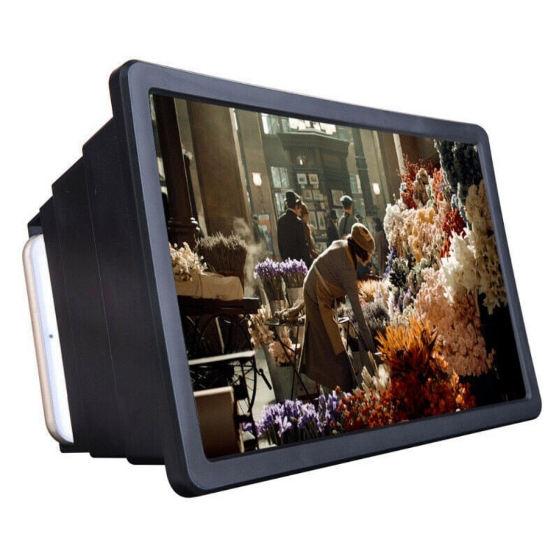 Cell Phone Screen Magnifier 3D HD Movie Video Amplifier