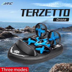 3in1 Mini Drone RC Drone Quadcopter/Vehicle/Hovercraft Boat