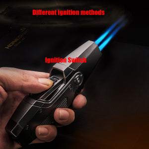 Jet Flame Refillable Butane Gas Fire Lighters