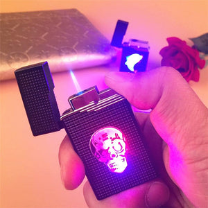 New Colorful Glow Torch Lighter Turbo Butane Gas Pipe Jet