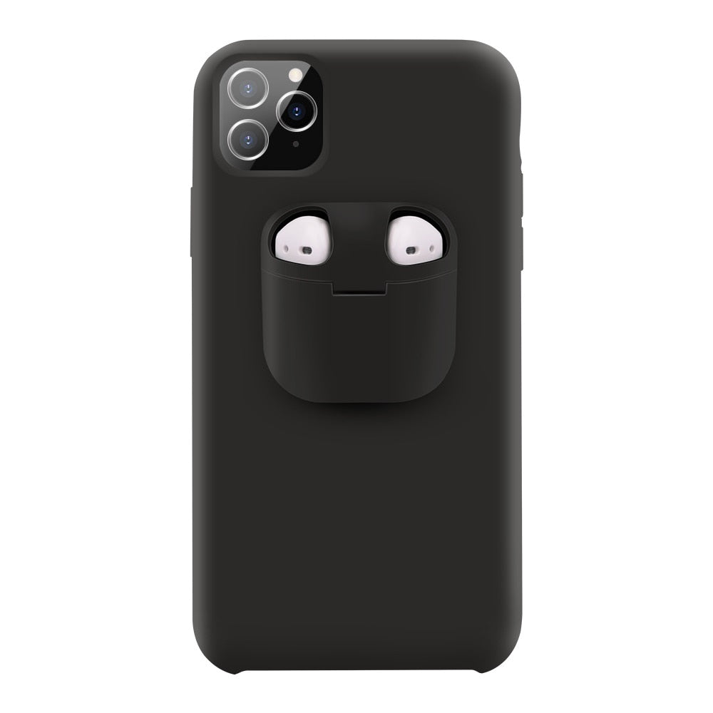 2 in 1 Phone Case for liphone & AirPods