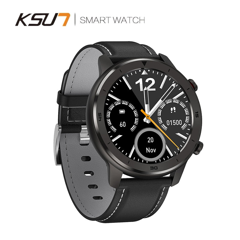 Smart Watch Fitness Tracker Heart Rate Monitor ECG Detection