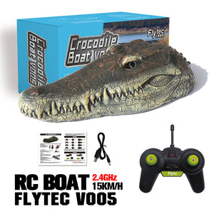 4CH 2.4Ghz Electric RC Crocodile Head Boat
