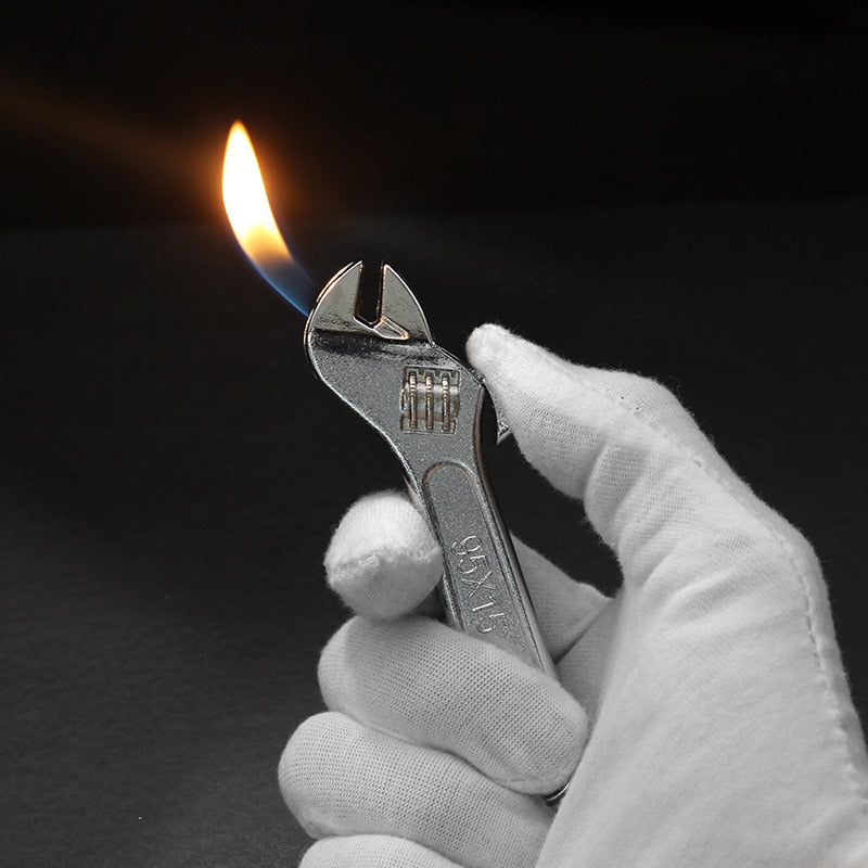 Mini Creative Torch Metal Wrench Fiery Lighter