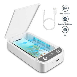 UV Sterilizer Multifunctional Mobile Phone Sanitizier Disinfector Box