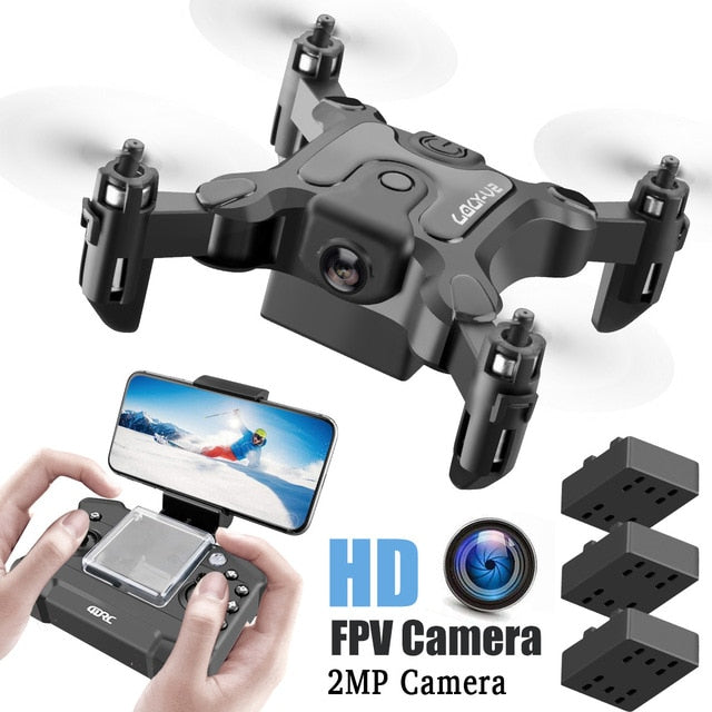 Mini RC Quadcopter RTF WiFi FPV  Drone With HD Camera