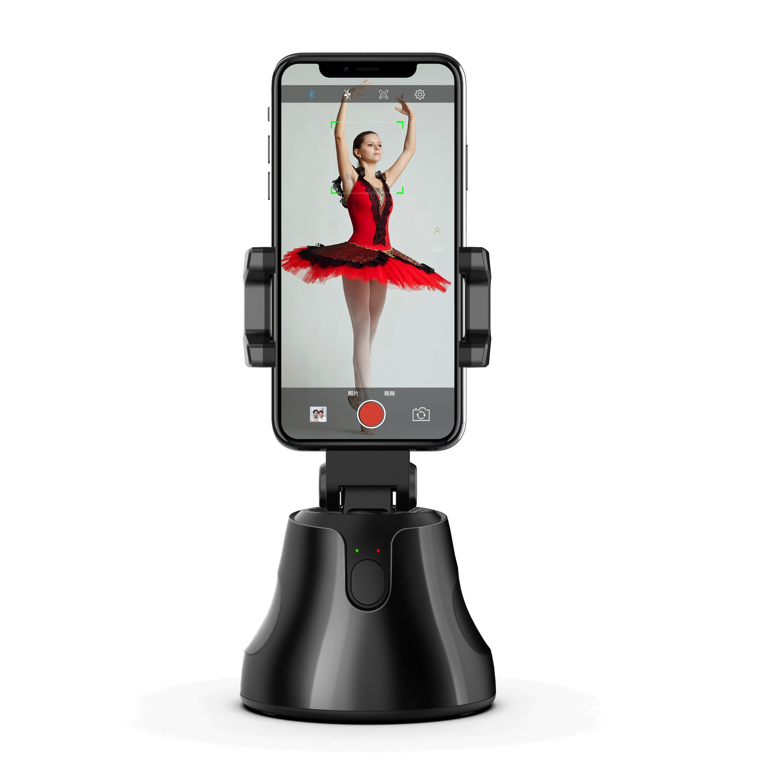 Smartphone Selfie Stick tripod for phone Shooting Gimbal 360° Face & Object Follow Up tripode