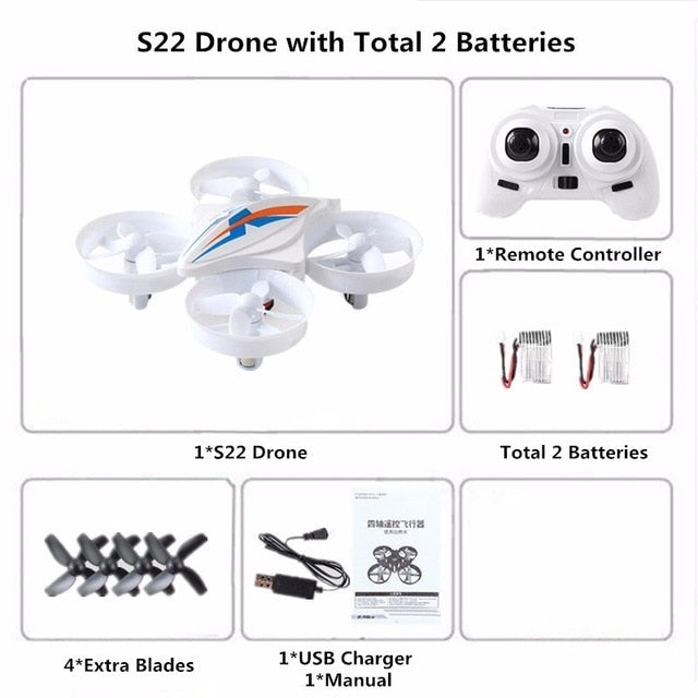 Mini Drone Quadcopter RC Helicopter