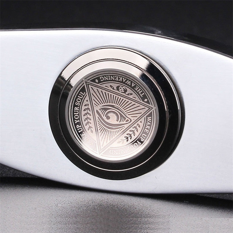 FIDGET SPINNER EDC Finger screw Pure steel pressure reducing gyroscope Toys
