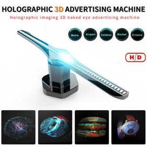 3D Hologram LED Fan Projector Light Advertising Display