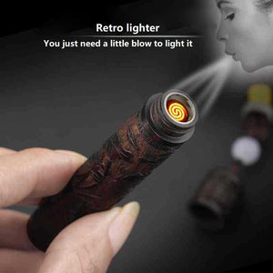 Air Blowing Electric Windproof Lighter