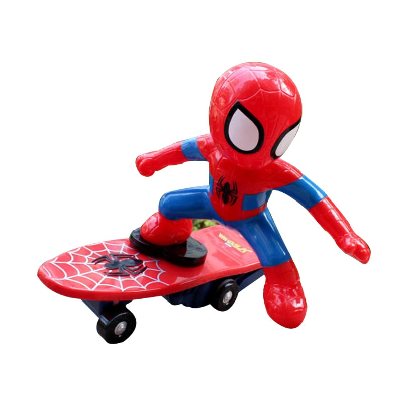 Spiderman RC Skateboard Action Figure toy(High Quality)