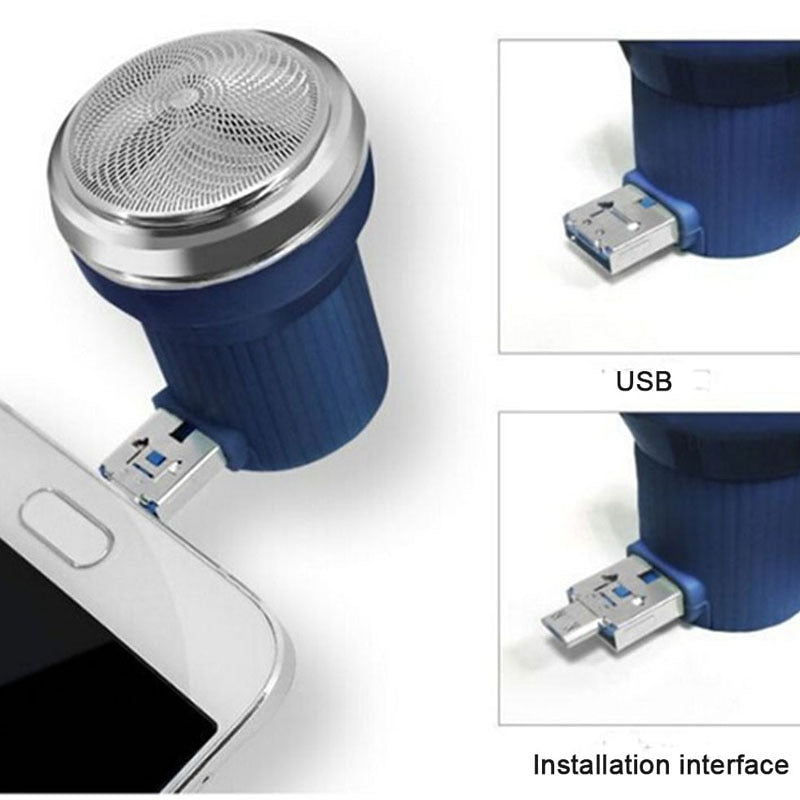 Travel Razor Mini USB Smartphone Shaving For Android