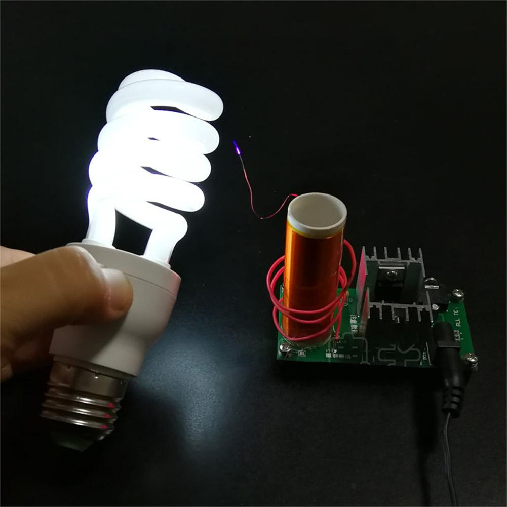Mini Tesla Coil Music Plasma Horn Speaker