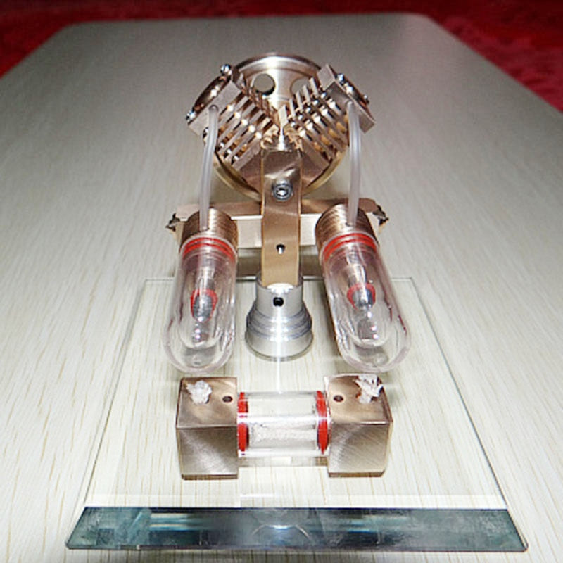 Stirling Engine Model External Combustion Engine Micro-generator