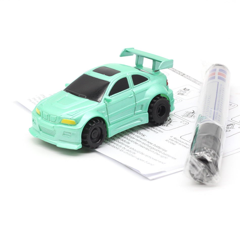 Magic Pen Inductive Car Truck  Follow Any Drawn Black Line