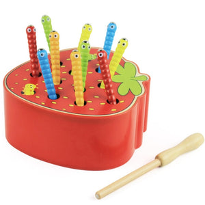 Catch Worm Game Early Childhood Educational Toys