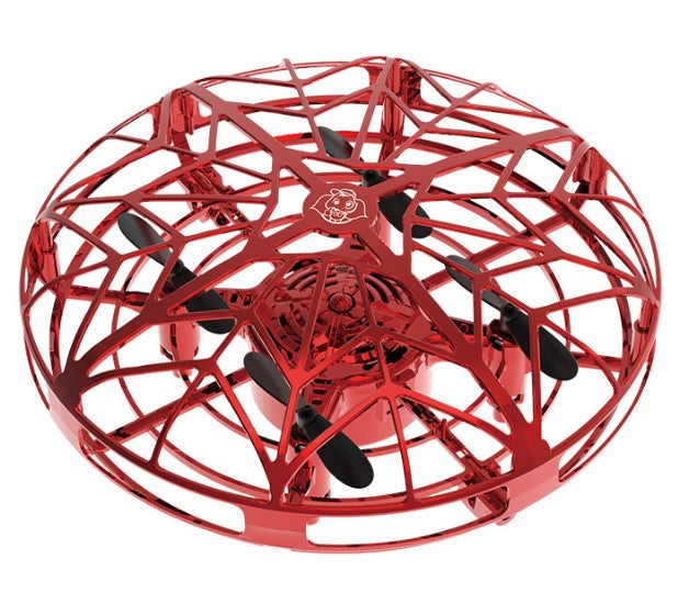 Infraed Induction Aircraft Quadcopter Flying Helicopter