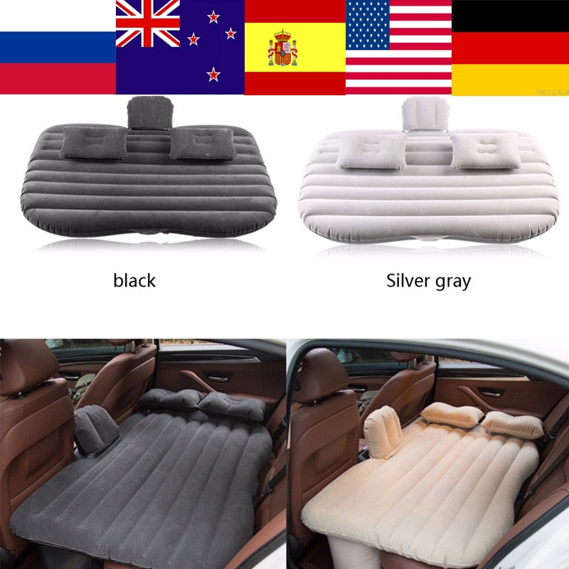 Car Air Mattress Travel Bed Inflatable Mattress Air Bed