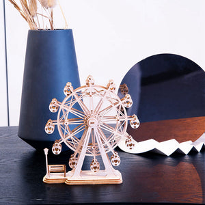 DIY Ferris Wheel Toys 3D Wooden Puzzle Toy Wood Craft Kits