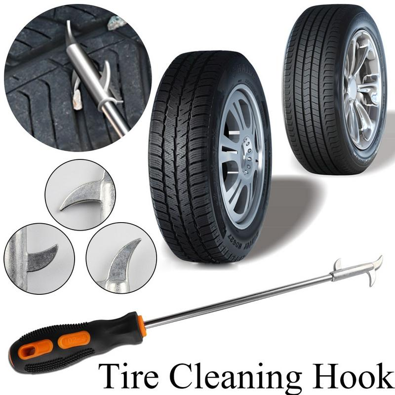 Car Tire Cleaning Hook Multifunctional Stone Cleaning Tool