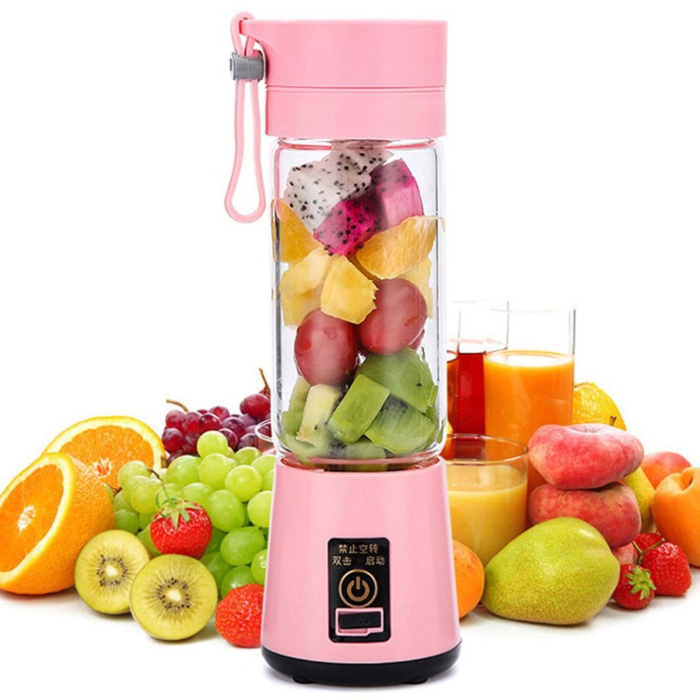 USB Electric Fruit Juicer Handheld Smoothie Maker