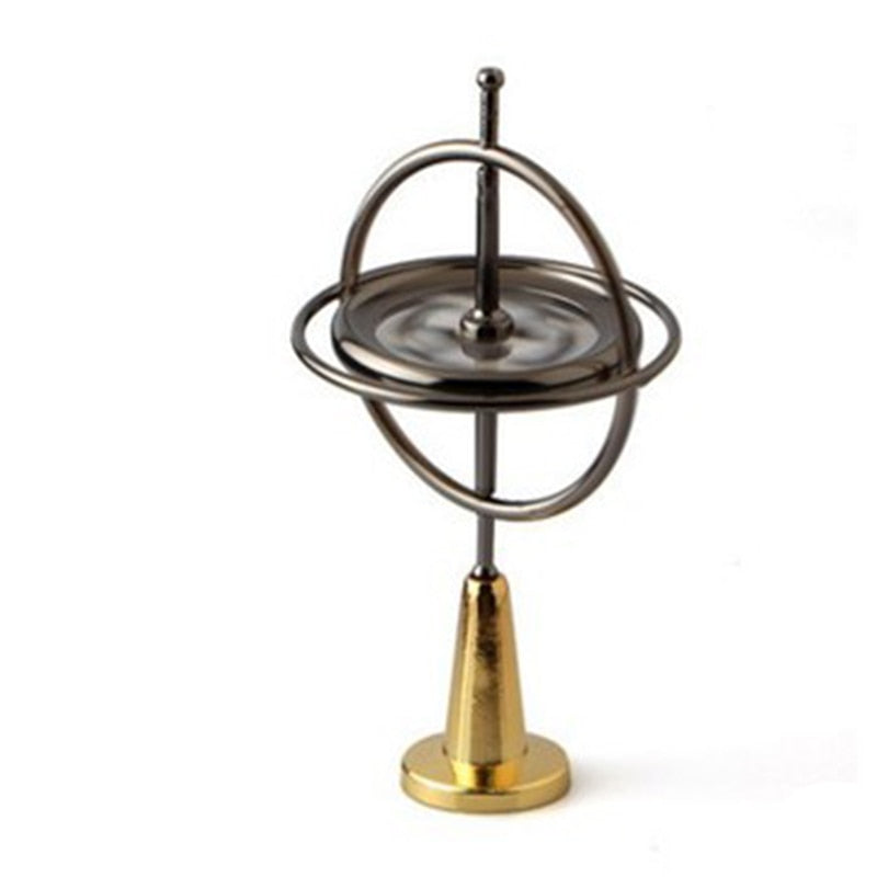 Metal Finger Gyroscope Gyro Pressure Education Creative Toy