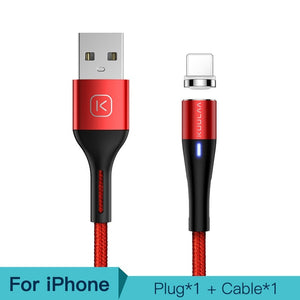 Magnetic Cable 3A Quick Charge Adapter For iPhone Samsung