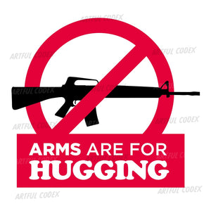 Arms Are For Hugging Illustration